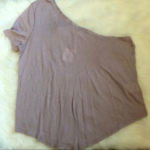 NWT thin one shoulder purple top urban outfitters